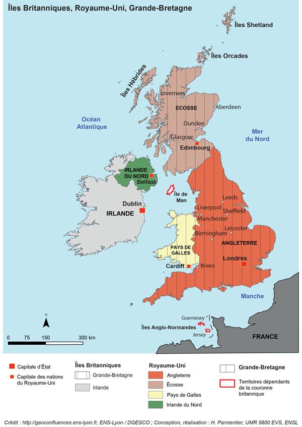 Carte Angleterre Irlande Ecosse.Les Enjeux Du Referendum Sur L Autodetermination Du 18 Septembre