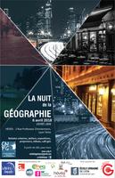 6 avril 2018 : la Nuit de la géographie 2e édition