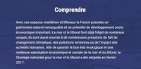 Une consultation nationale « Les Français et la mer » et des documents sur le domaine maritime français
