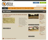 Africa Check : contre les fausses nouvelles, un site de vérification de faits consacré à l'Afrique