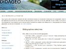 Didagéo : un blog sur la didactique en géographie