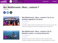 La Méditerranée dans Cultures Monde
