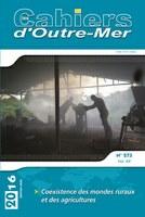 L'agriculture dans l'outre-mer français : un numéro des Cahiers d'Outre-Mer
