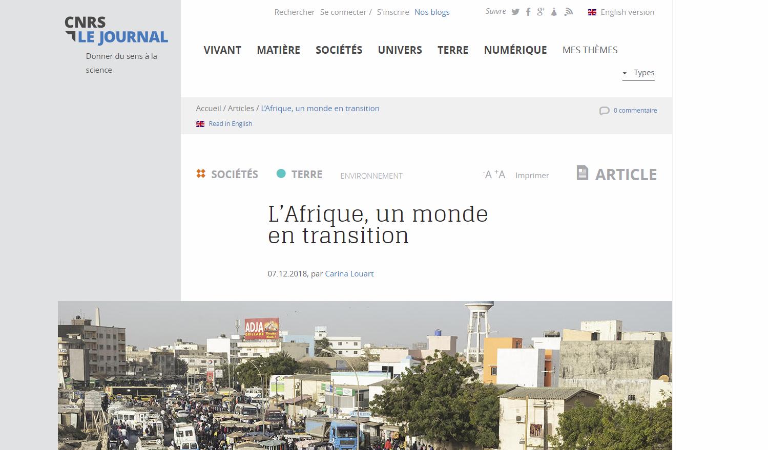 """Dans """"CNRS Le Journal"""", plusieurs articles en lien avec les programmes scolaires"""