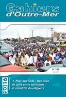 Un numéro des Cahiers d'outre-mer dédié au fait religieux dans les Suds