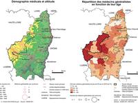 La démographie médicale en France, le risque des déserts médicaux. L'exemple de la Montagne ardéchoise