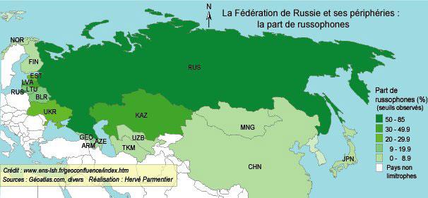 Voisins non russes ukraine