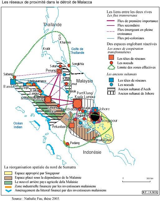 Exceptionnel Le détroit de Malacca : des flux maritimes à la structuration d  JP99