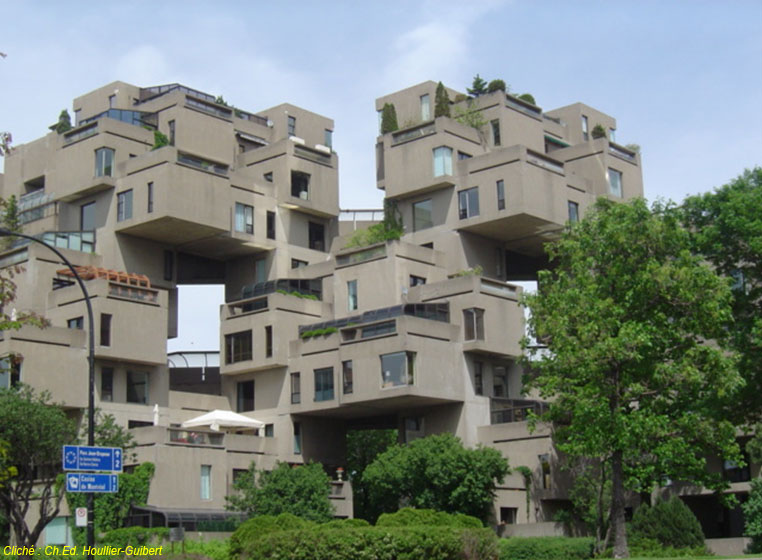 Ville internationale image internationale le cas de montr al partie 1 l - Architecture des annees 80 ...