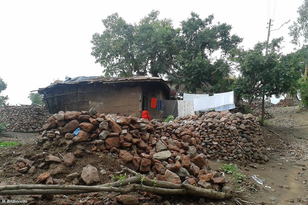 Destruction, construction à Lalibela