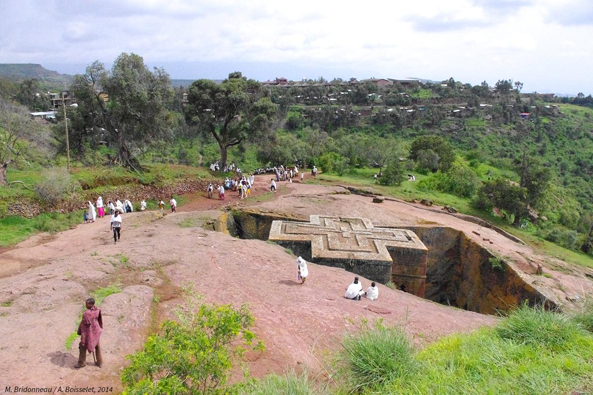 photographie église chrétienne Éthiopie lalibela