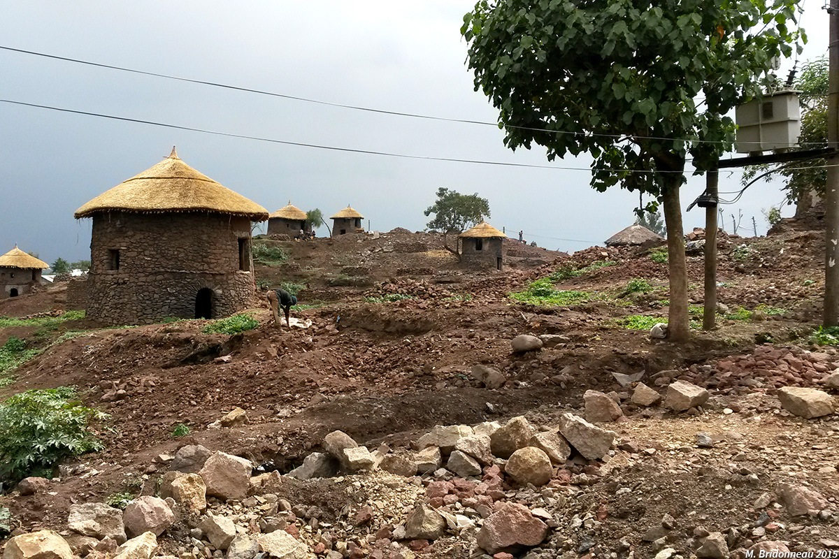 paysage Lalibela Ethiopie Bridonneau