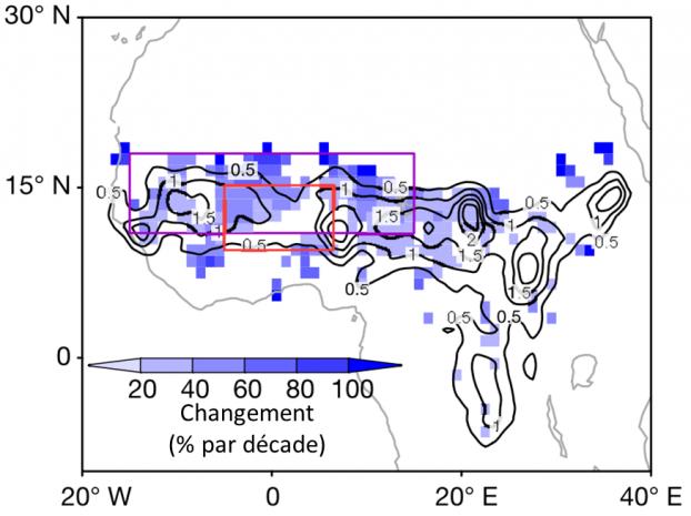 Pluies extrêmes au Sahel : CNRS