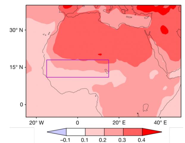 Réchauffement au Sahara et Sahel : CNRS