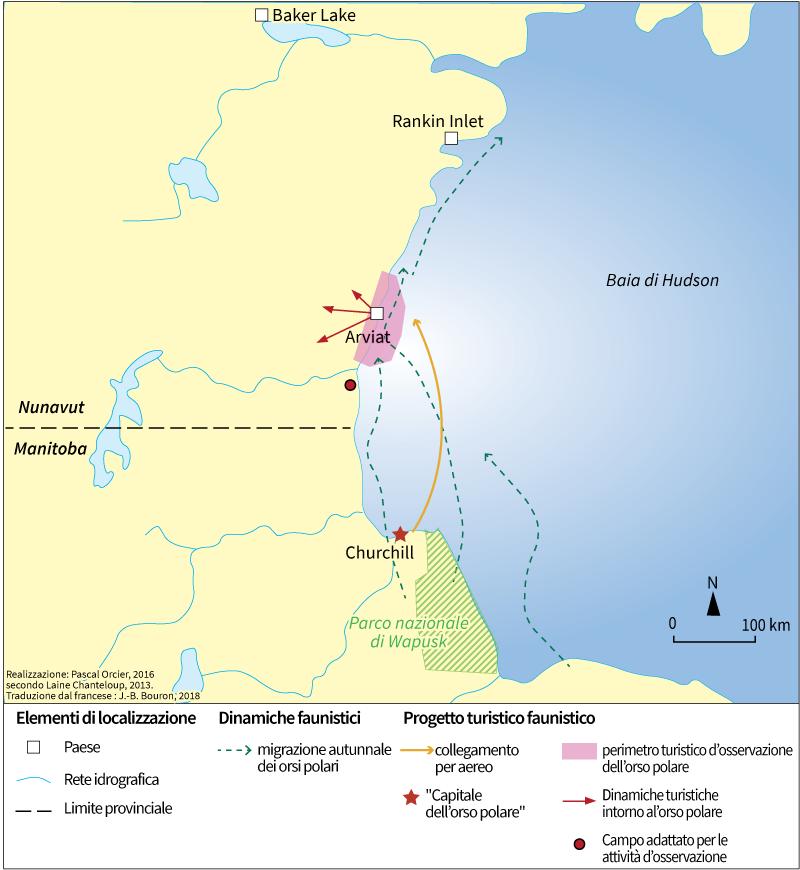 Churchill orsi polari e turismo
