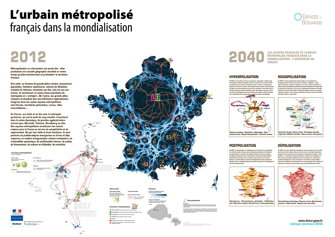 DATAR cget prospective France 2012 2040