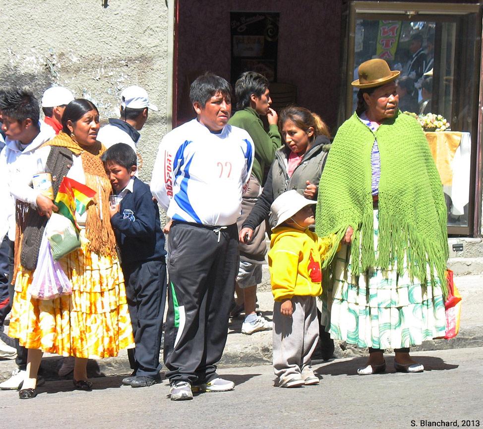 Sophie Blanchard — photographie cholitas à La Paz
