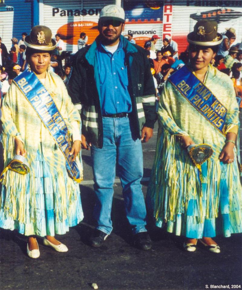 Sophie Blanchard — Morenada à la Fête de La Paz