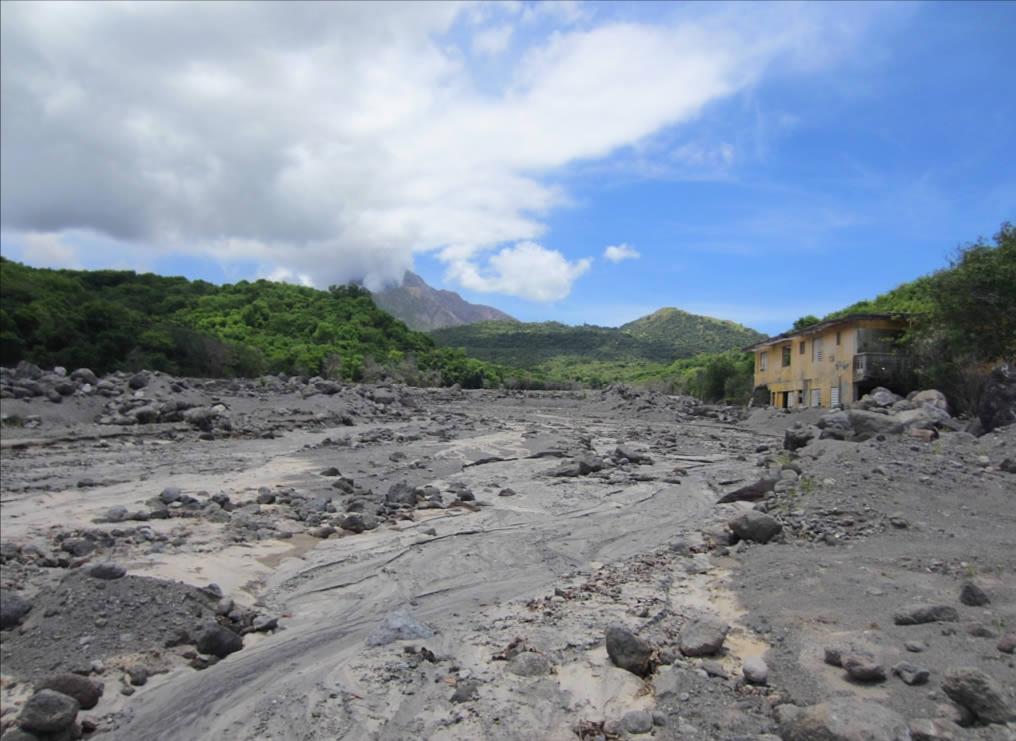 plymouth photographie éruption Montserrat — David Stanley
