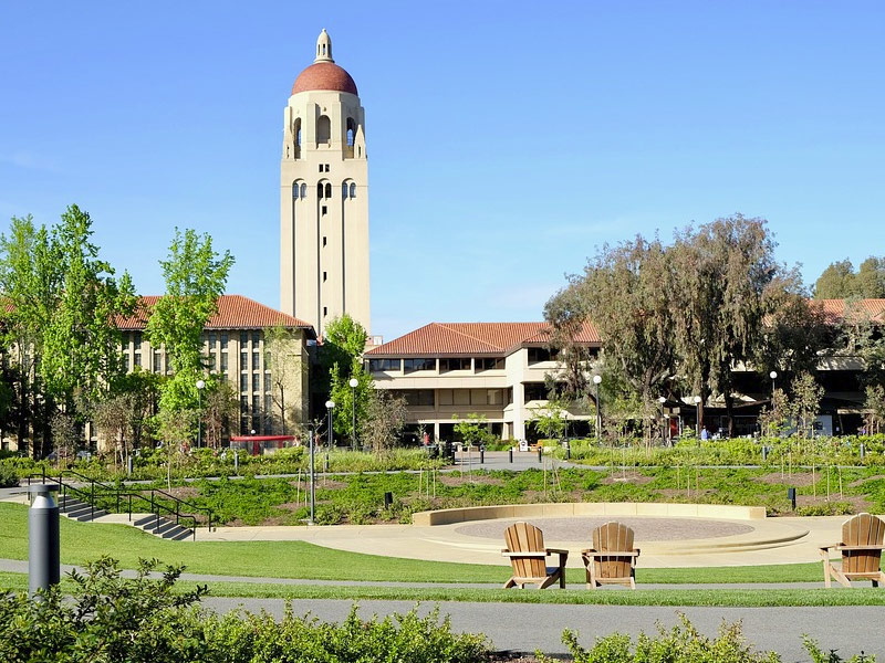 université de Stanford Silicon Valley — LIBRE DE DROITS DOMAINE PUBLIC