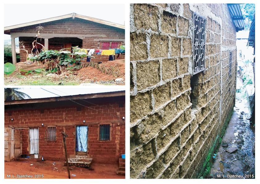 Martin Luther Djatcheu — maisons en brique de terre crue