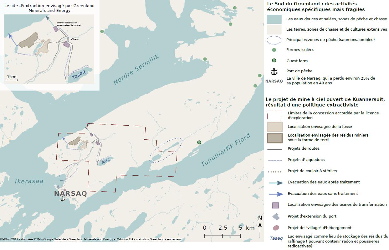 Marine Duc — Carte conflits miniers à l'échelle locale