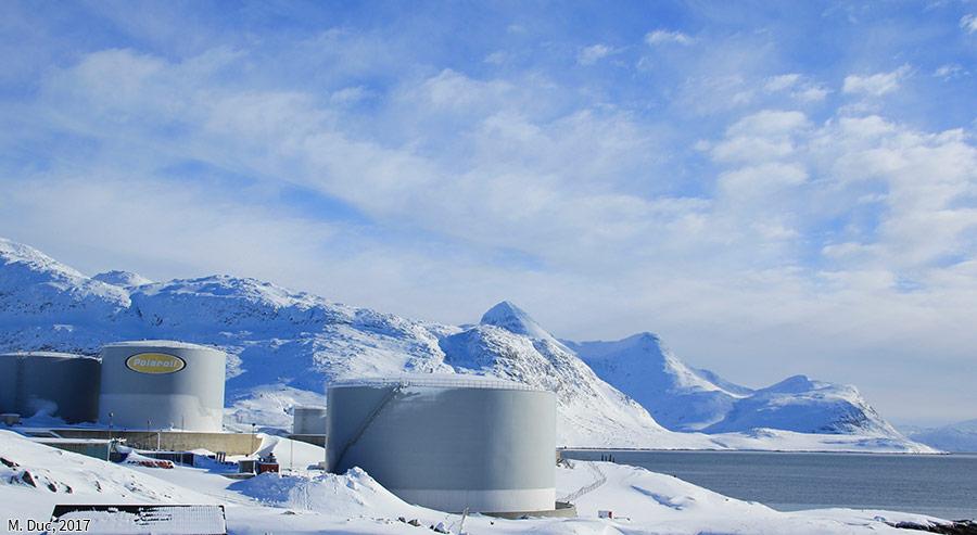 Marine Duc — photographie le port de Nuuk au Groenland