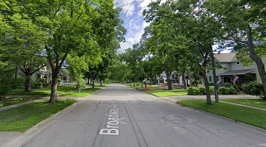 Minneapolis Saint Paul paysage de suburb