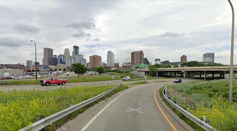 Minneapolis Saint Paul paysage entrée de ville