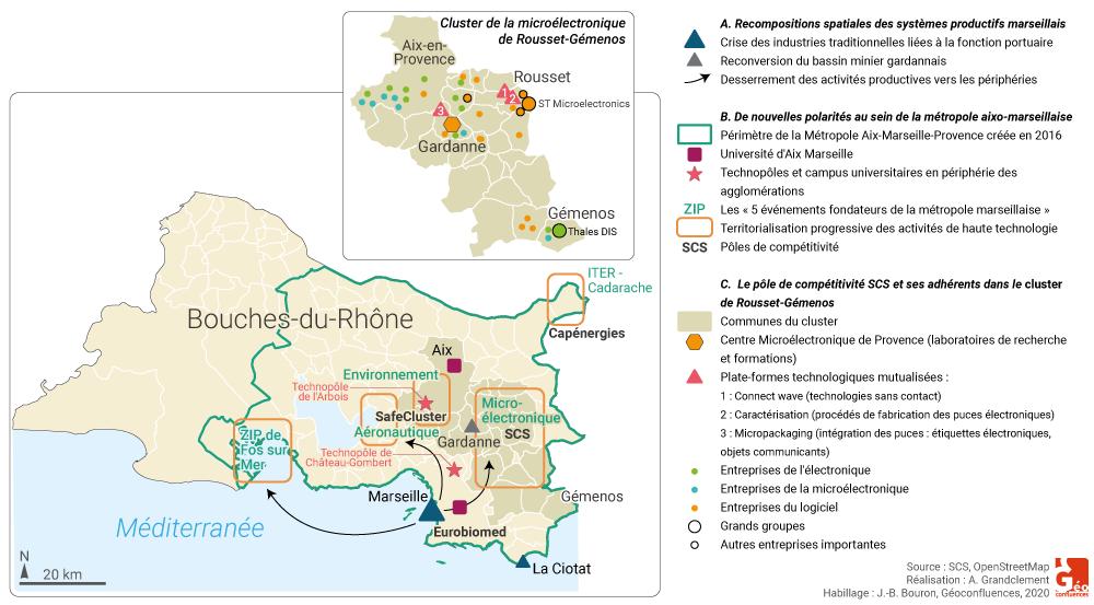 Antoine Grandclement — PACA Marseille Aix espace productif clusters pôles système productif