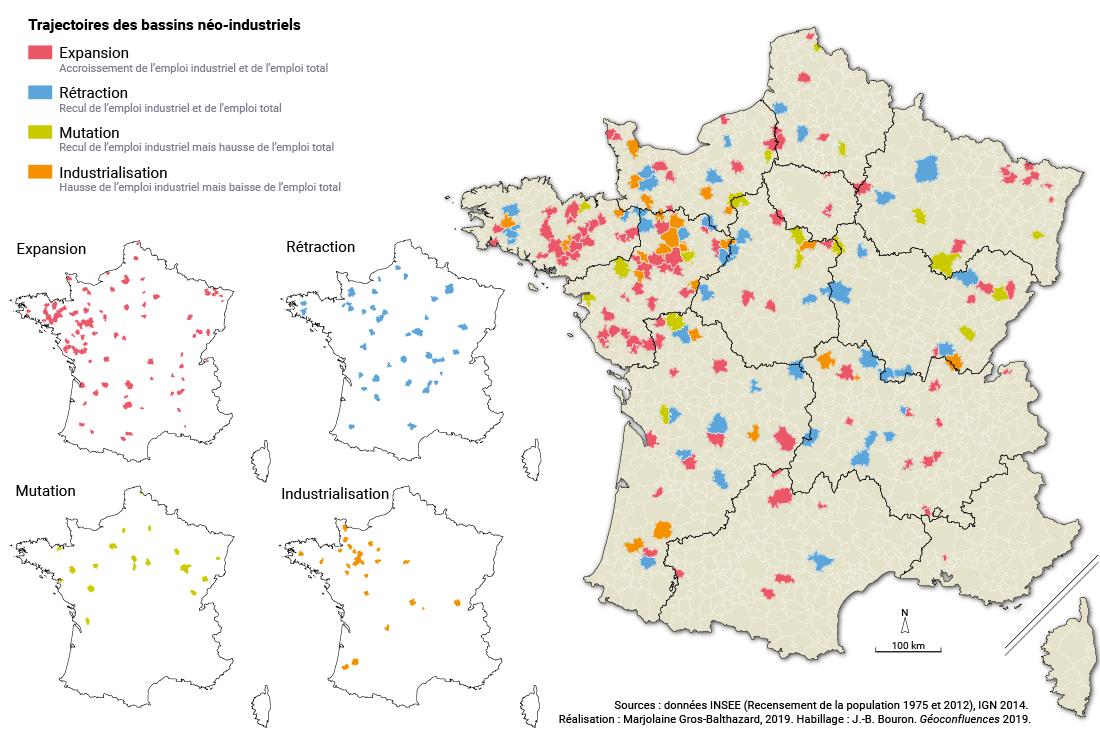 Gros-Balthazard — trajectoire évolution bassins néo-industriels