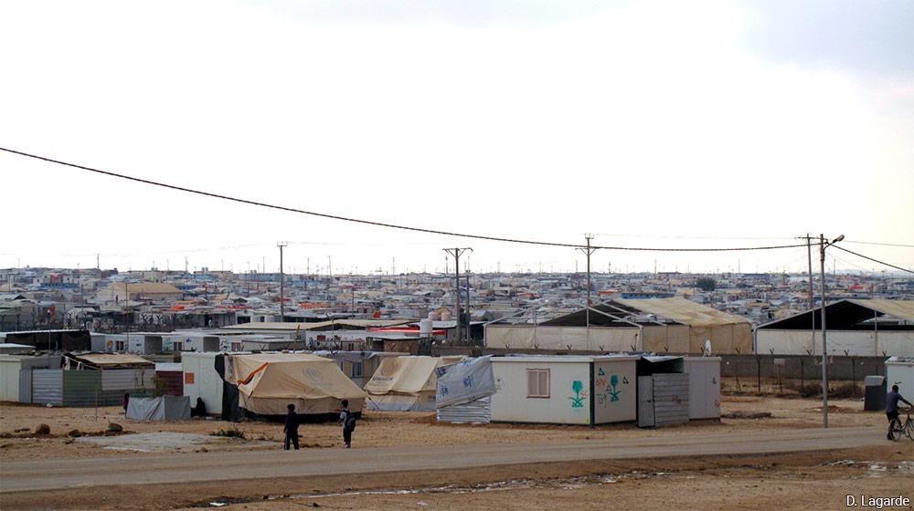 camp de Zaatari Jordanie photographie David Lagarde