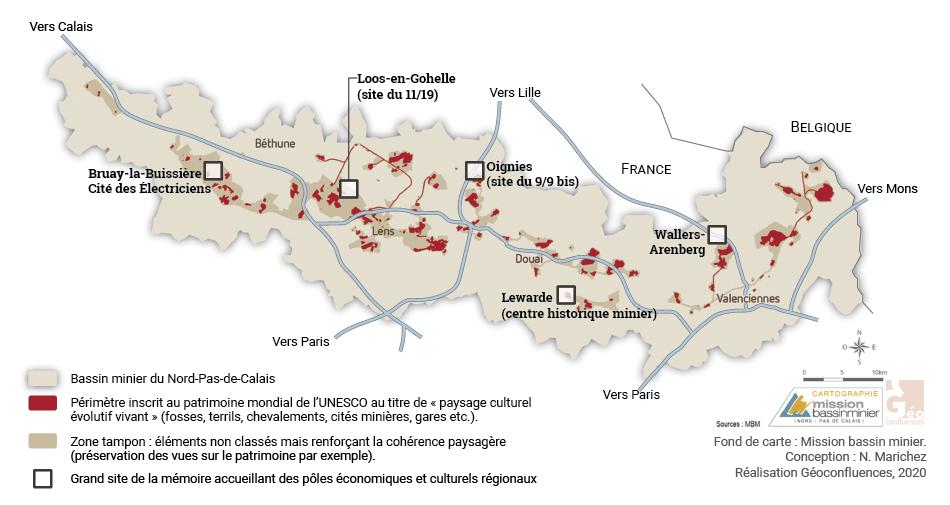 patrimonialisation du bassin minier du nord