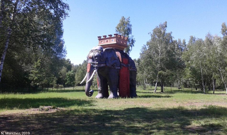 éléphant de la mémoire