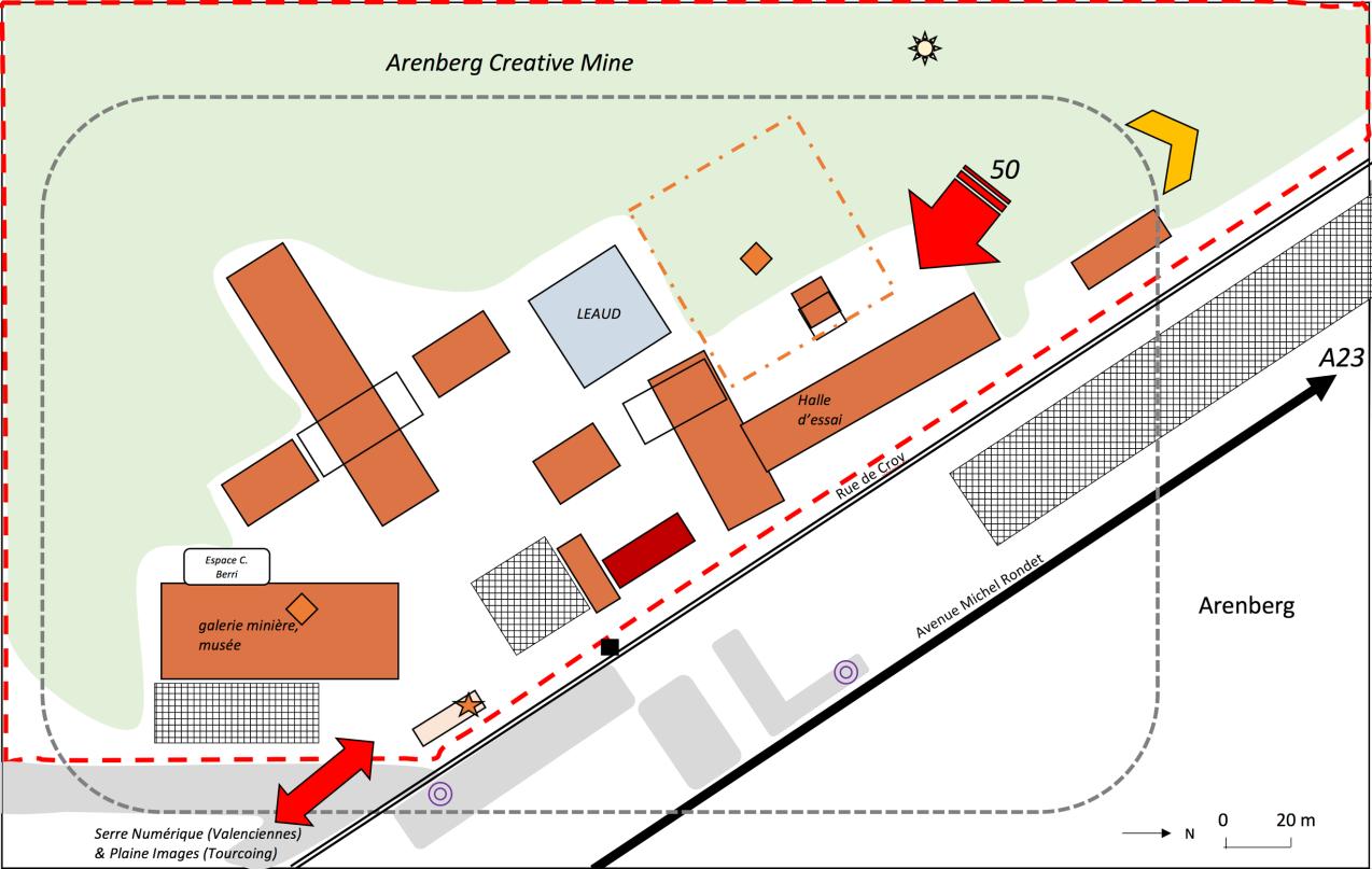 plan Aremberg creative mine