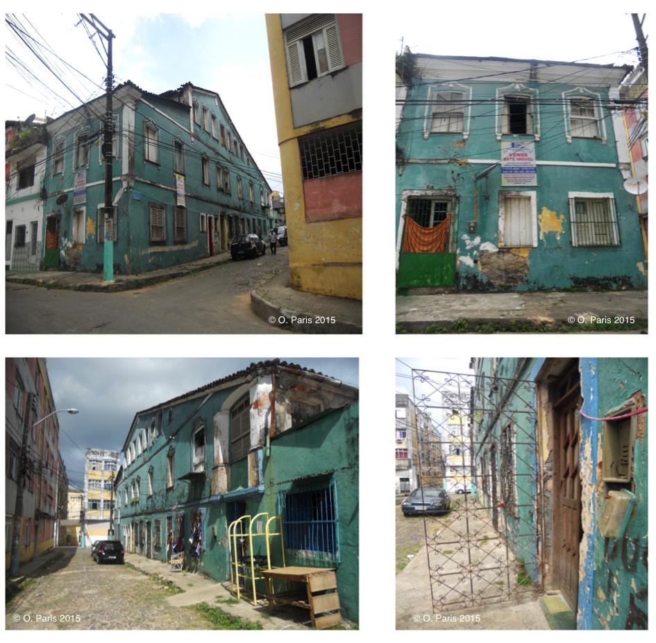 Octavie Paris — cortiços à Salvador de Bahia Brésil