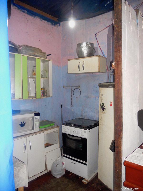 Octavie Paris — intérieur d'un quarto à Salvador de Bahia