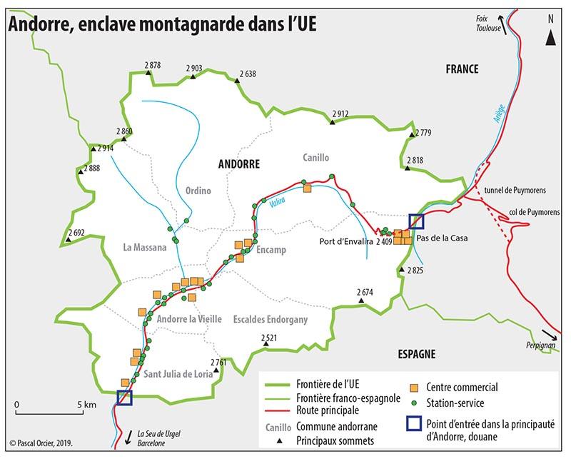 Pascal Orcier — carte Andorre