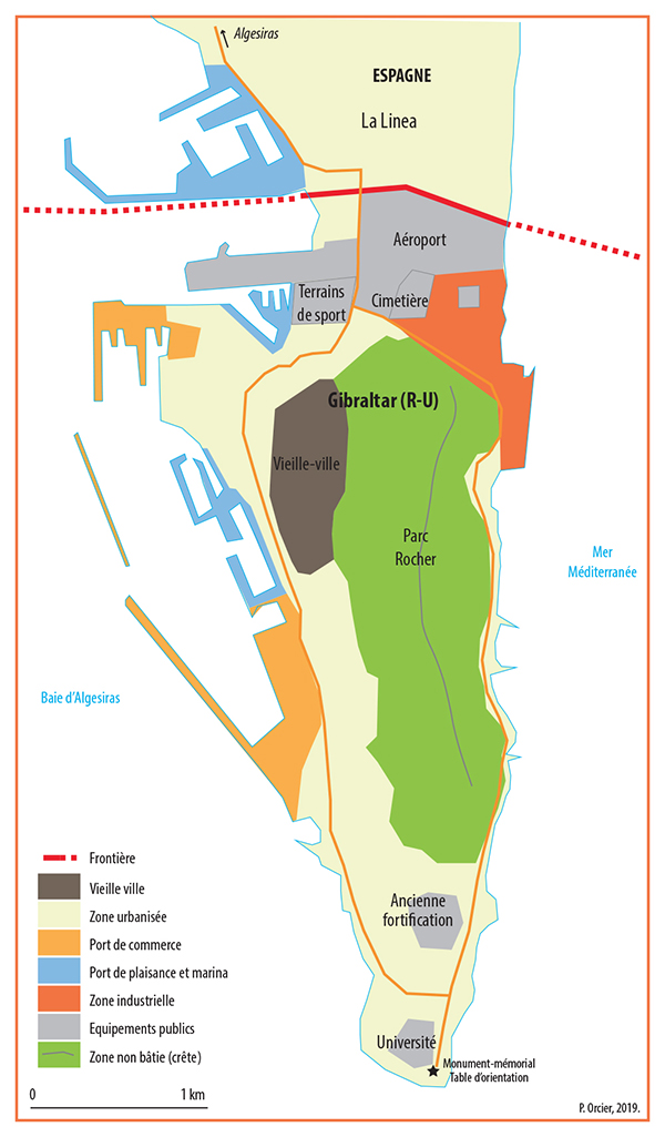 Pascal Orcier — carte Gibraltar