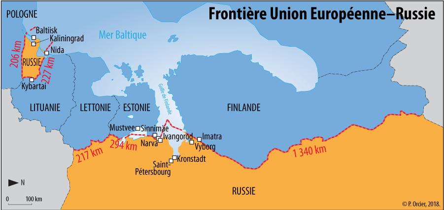 Pascal Orcier — Frontière UE Russie