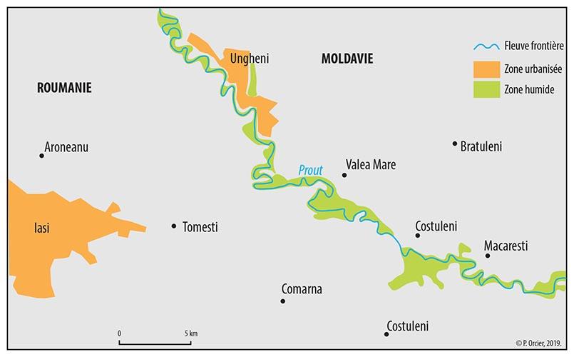 Pascal Orcier — carte frontière Roumanie Moldavie
