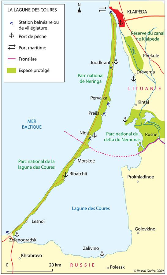 Pascal Orcier — carte lagune des coures