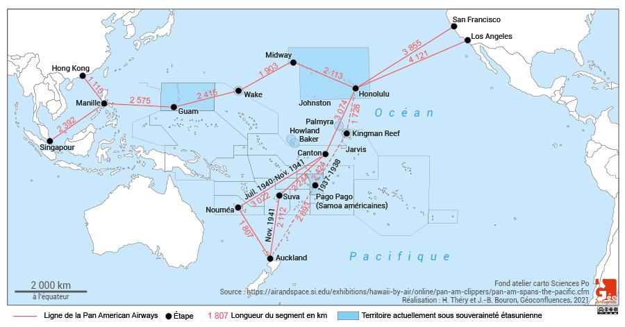 Lignes aériennes transpacifiques de la pan americain airways