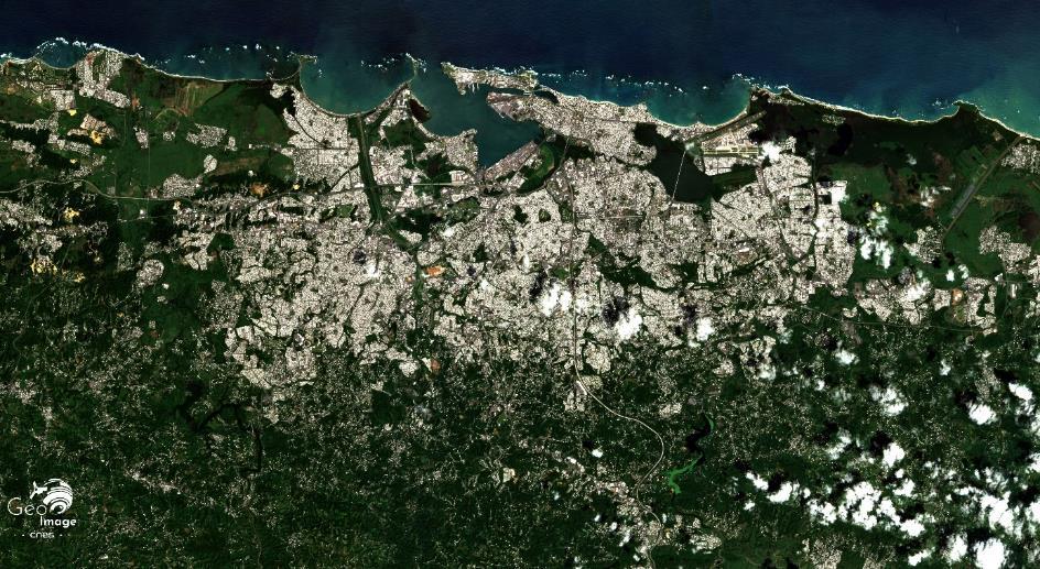 San Juan — image satellite CNES Géoimage