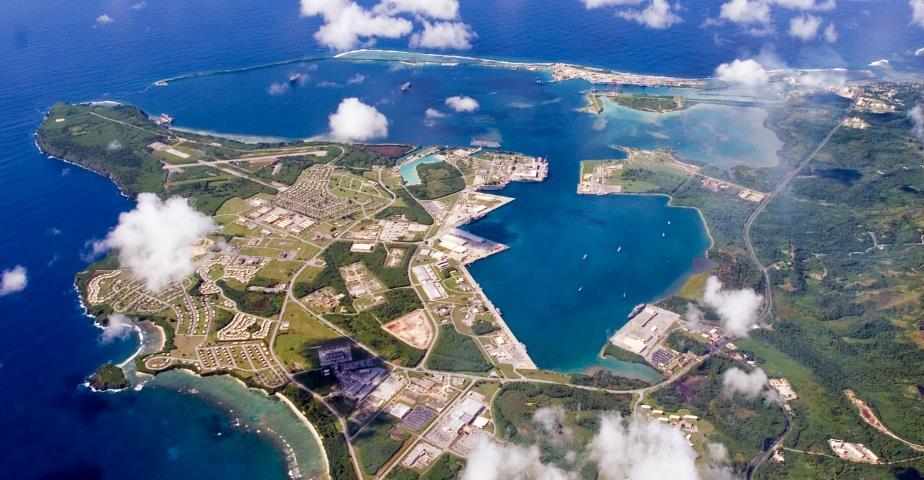 base navale de Guam