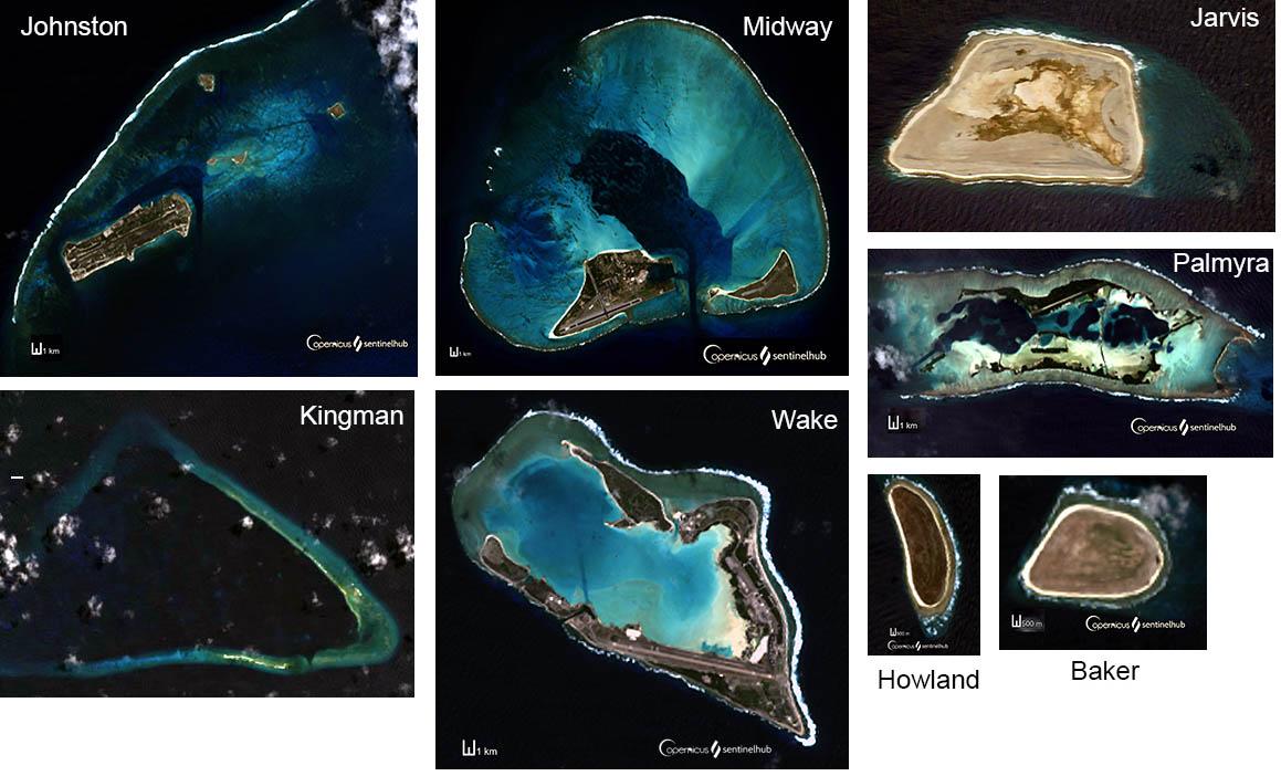 Les îles mineures du Pacifique
