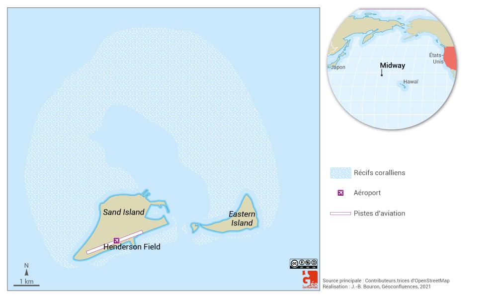 midway map — carte de midway