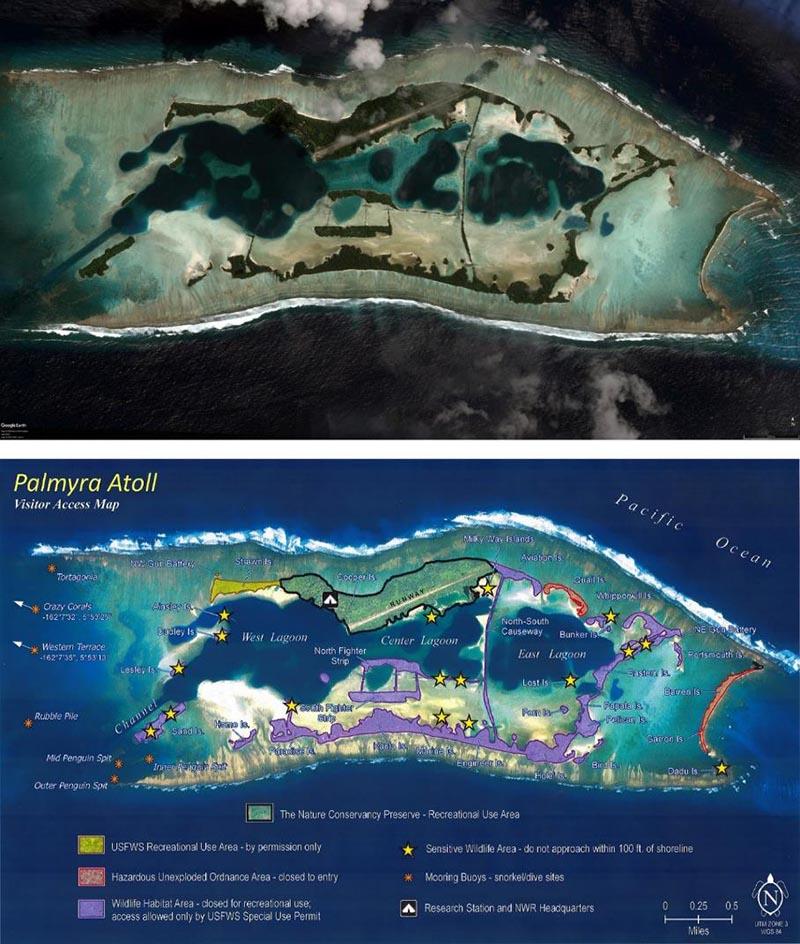 atoll de palmyre