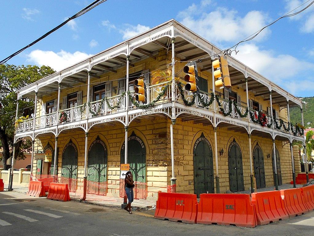 Charlotte Amalie picture — quartier colonial Charlotte Amalie