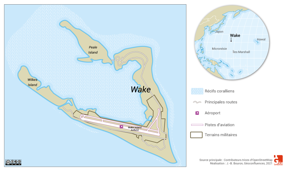 wake map — carte de wake